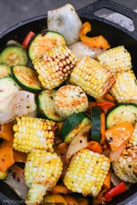 Weekend Recipe: Spicy Campfire Veggies