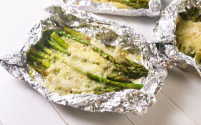 Weekend Recipe: Cheesy Asparagus