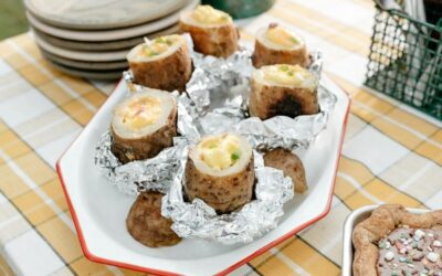 Weekend Recipe: Cheese, Egg and Pepper Stuffed Potato