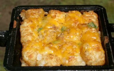 Weekend Recipe: Cheesy Tater Tots